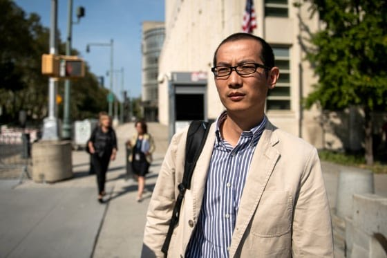 Bo Mao Attends Court As Chinese Professor Accused of Theft to Help Huawei